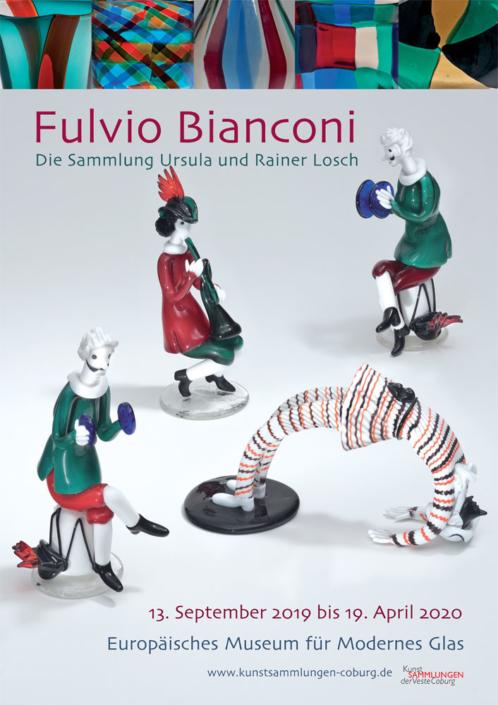 Plakat Fulvio Bianconi - Die Sammlung Ursula und Rainer Losch