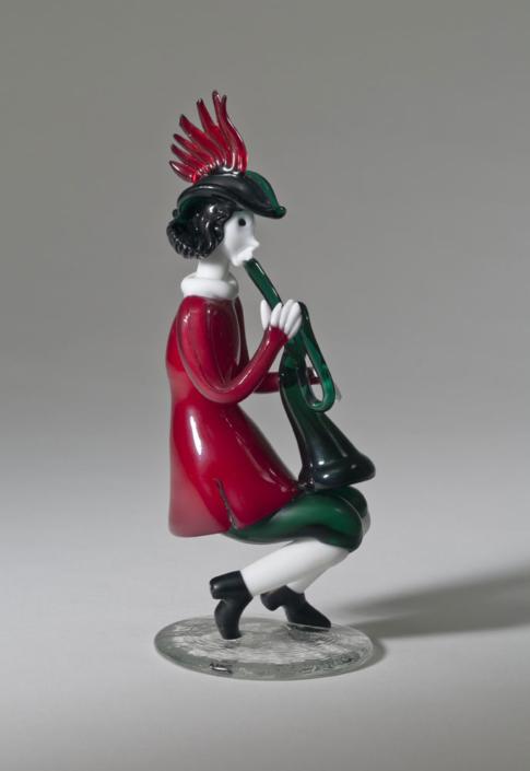 Fulvio Bianconi/Venini, Figur Musicanti, Entwurf 1950, Kunstsammlungen der Veste Coburg © VG Bild-Kunst, Bonn 2019 © Foto: Kunstsammlungen der Veste Coburg