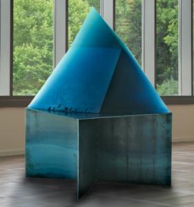Stanislav Libenský, Blaue Pyramide, 1993