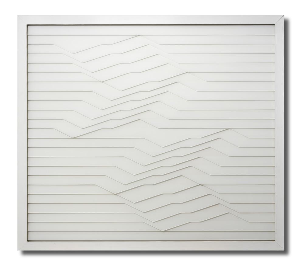 Renato Santarossa, Spazio Movimentato (Belebter Raum), 1987, Inv. Nr. a.S.06058, Kunstsammlungen der Veste Coburg